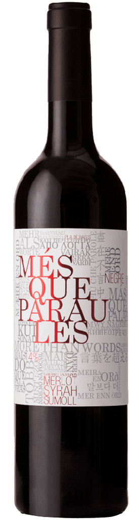 Mqp negre vinitor - Mes que paraules tinto ...